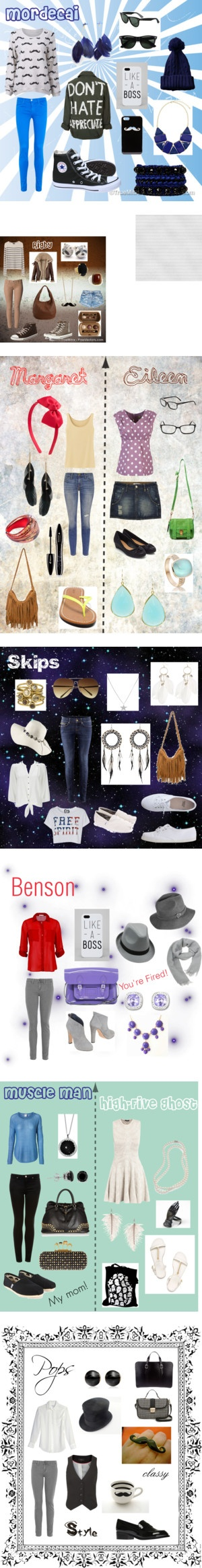 """""""Regular Show collection"""" by ellalisaratt on Polyvore"""