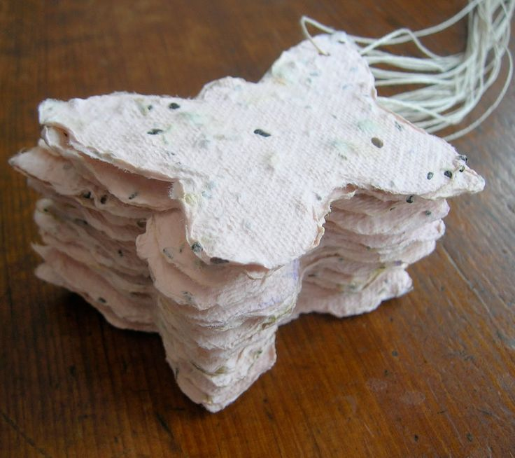 Tie in the Get Moving Journey and the Gardener badge with recycled seed paper