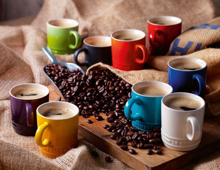 Le Creuset Espresso Mug in gres smaltato #food #colore #mug @Le Creuset Italia