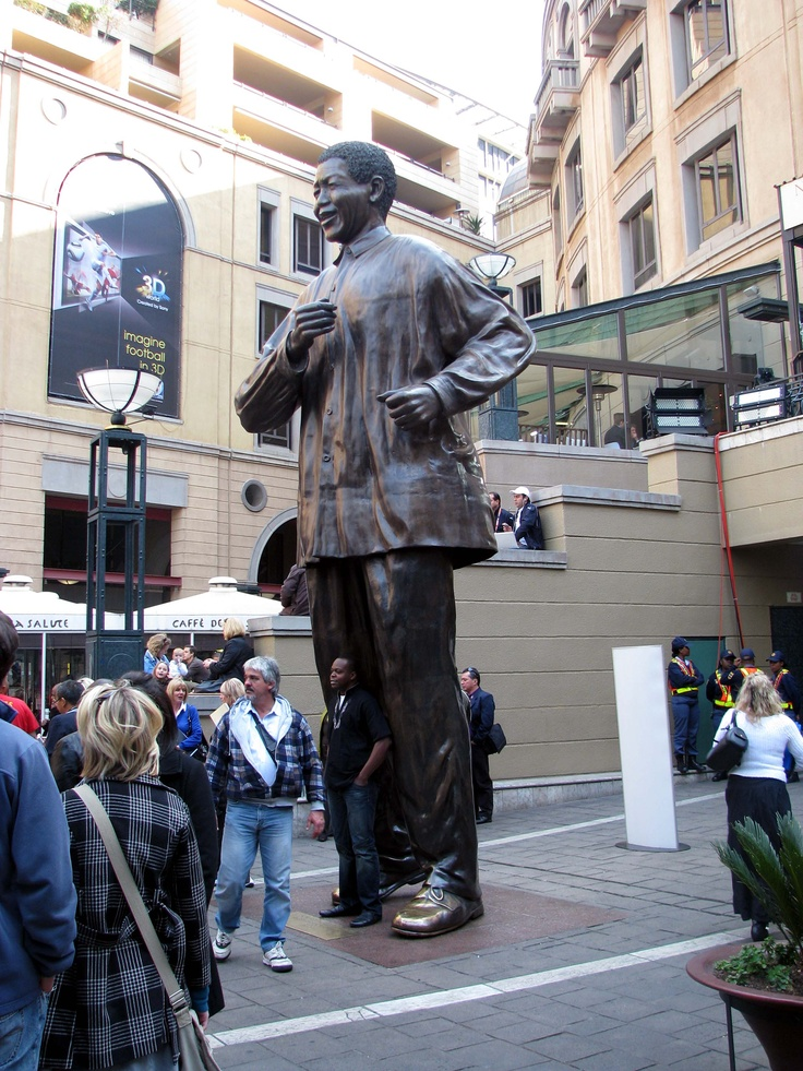 Mandela Square, South Africa. Johannesburg.