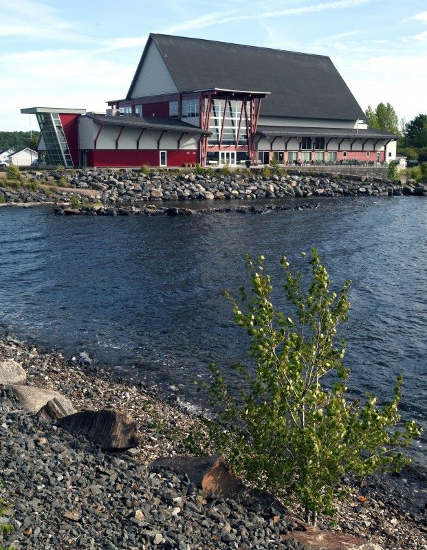 View from the Fitness Trail - Charles W. Stockey Centre for the Performing Arts, Parry Sound, Ontario