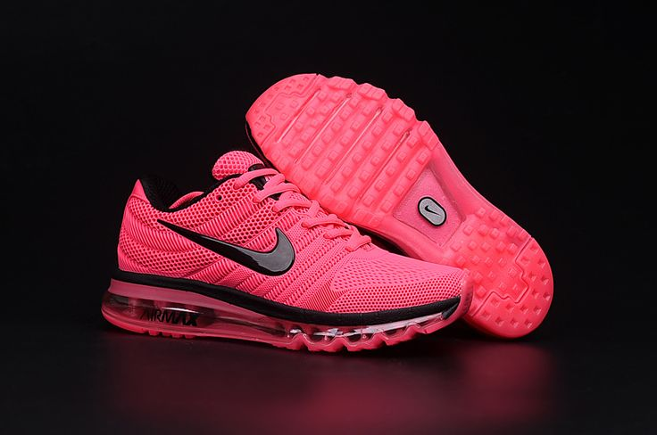 Nike Air Max 2017 Women Peach Shoes