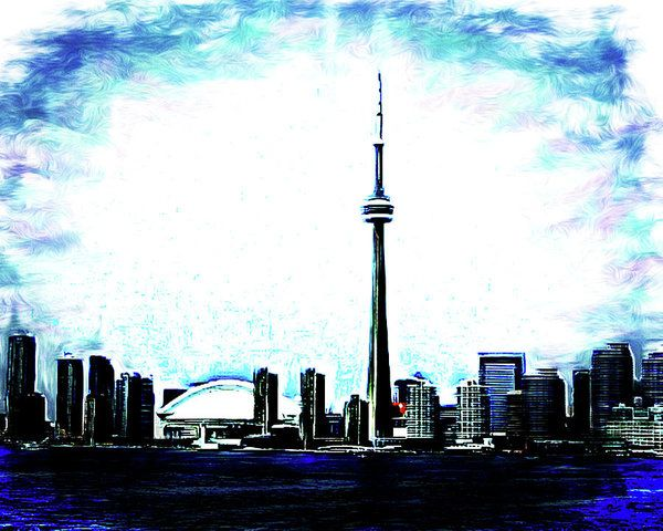 Toronto The Good Art Print by Leslie Montgomery.