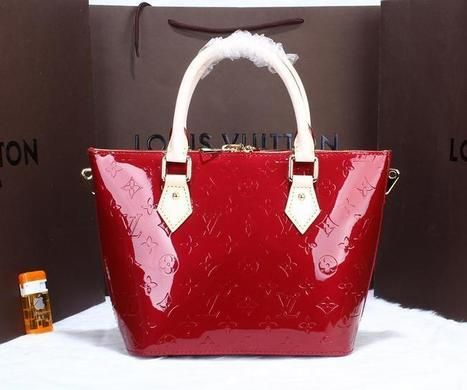 Louis Vuitton 90166 Red Bag - £138.80 | cheap bags uk | Scoop.it