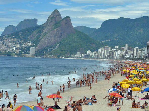O número de dias de férias que a lei determina em 46 países