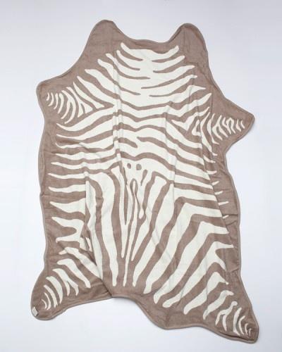 Zebra Towel In Natural