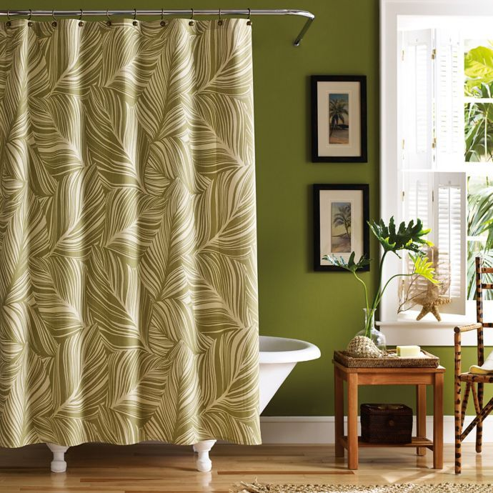 Montauk Drifter Shower Curtain Bed Bath Beyond Green Shower
