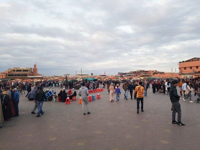 My amazing trip in Marrakech - Mary Mack's World. The square Jemaa el-Fna