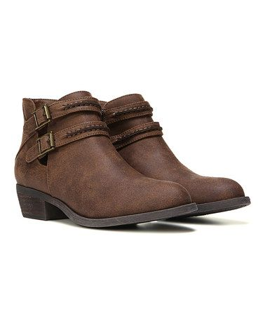 Love this Cognac Laney Bootie by Carlos by Carlos Santana on #zulily! #zulilyfinds