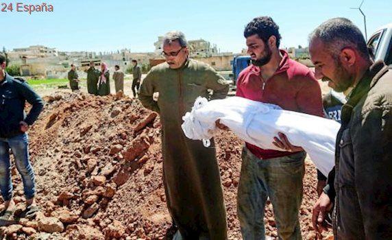 """Víctimas del ataque químico en Siria: """"¿Qué crimen ha cometido un niño de nueve meses?"""""""