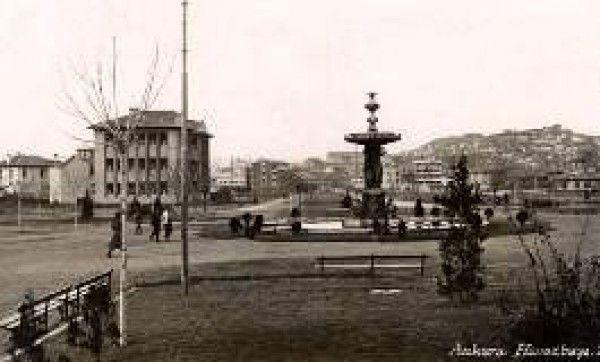 Kızılay Havuzbaşı Eski Ankara Fotoğrafları 1