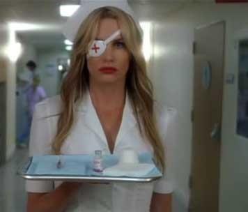 Костюм медсестры из фильма убить билла