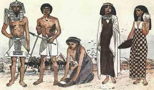 Реферат на тему история костюма древнего египта