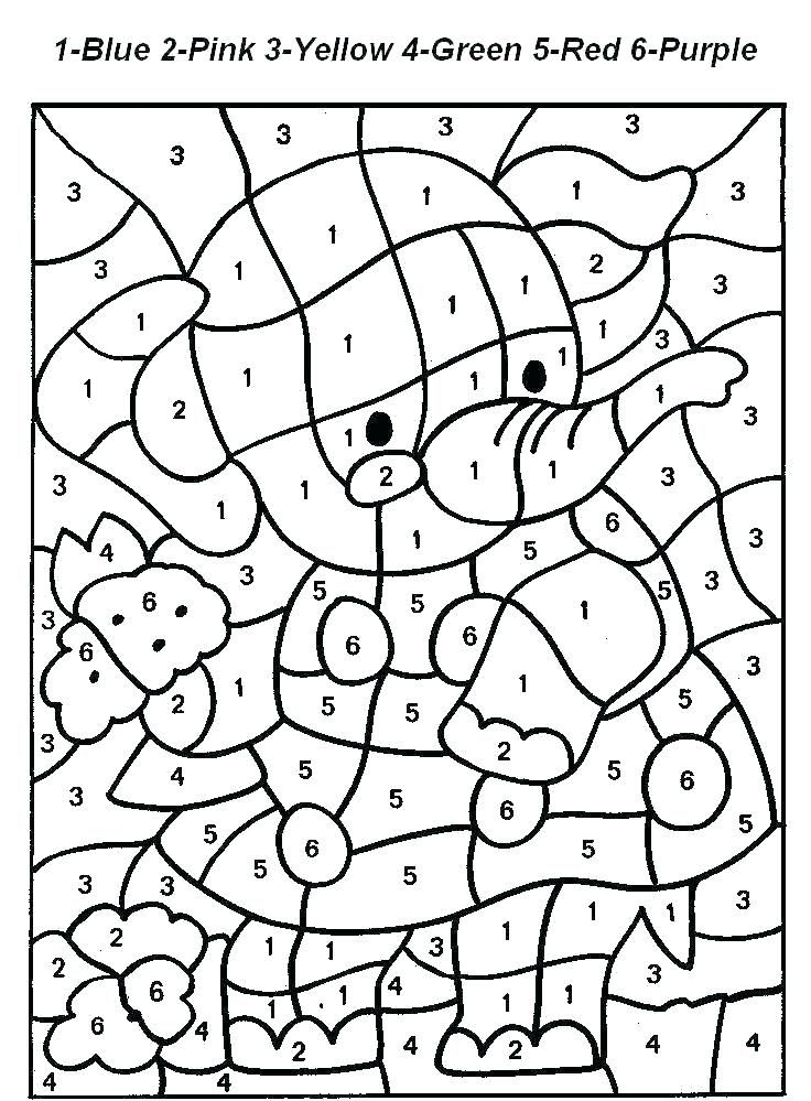 Color By Number Printable Pages Coloring Pages Numbers Coloring