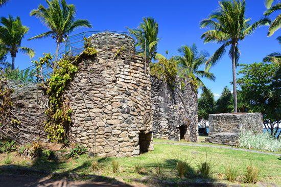 Le four à chaux à Grande Anse, Petite Ile, Destination Sud Réunion