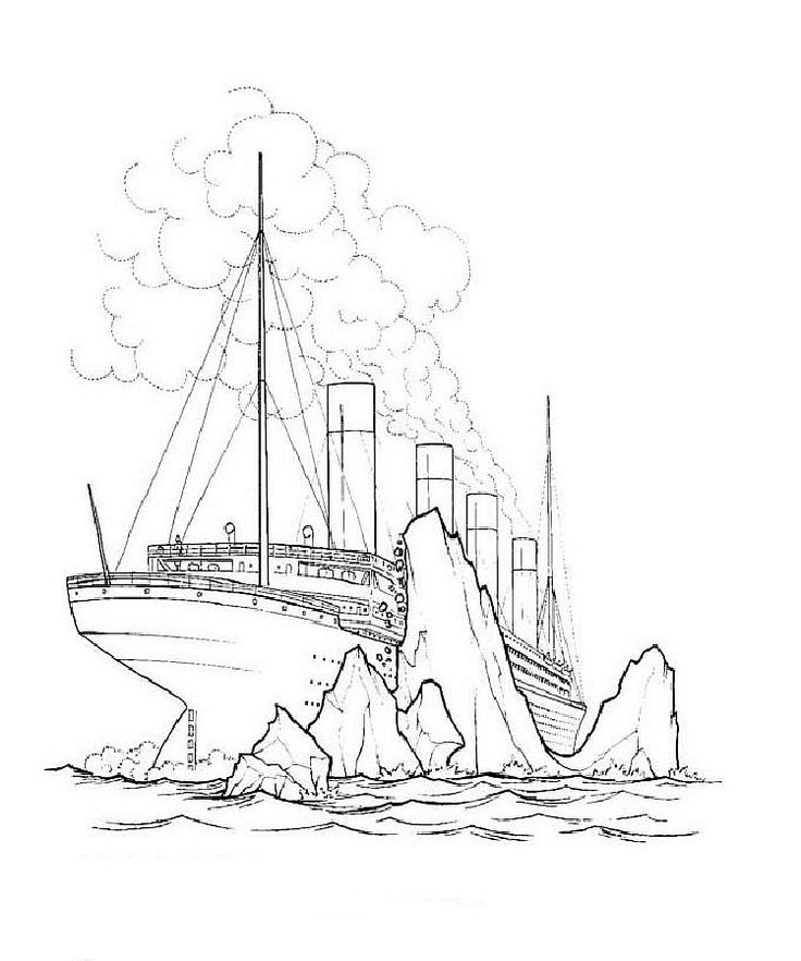 free titanic coloring page titanic coloring pages 5 printable coloring page