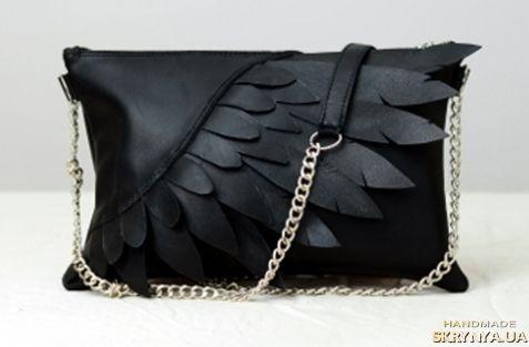 Кожаная сумка ′Крылья′