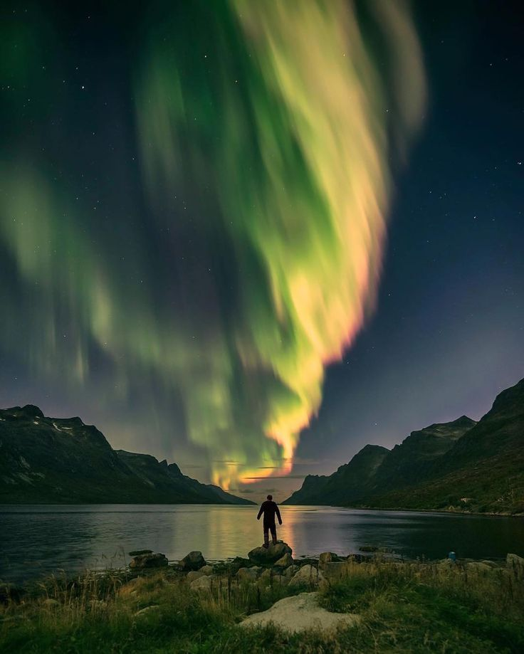 One month ago the sky went crazy right above my head  140k likes afterwards i'd like to thank all of you that have shared and liked my picture. Thank you all feel free to follow me There is much more coming- @eventyr