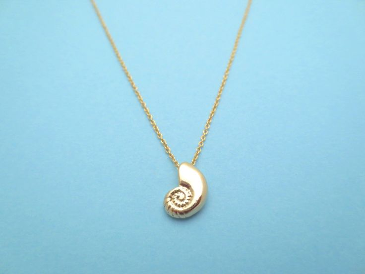 Ariel Voice, Gold, Necklace, Seashell, Gift, Necklace, Ariel, Jewelry by Solistar on Etsy https://www.etsy.com/listing/151924644/ariel-voice-gold-necklace-seashell-gift