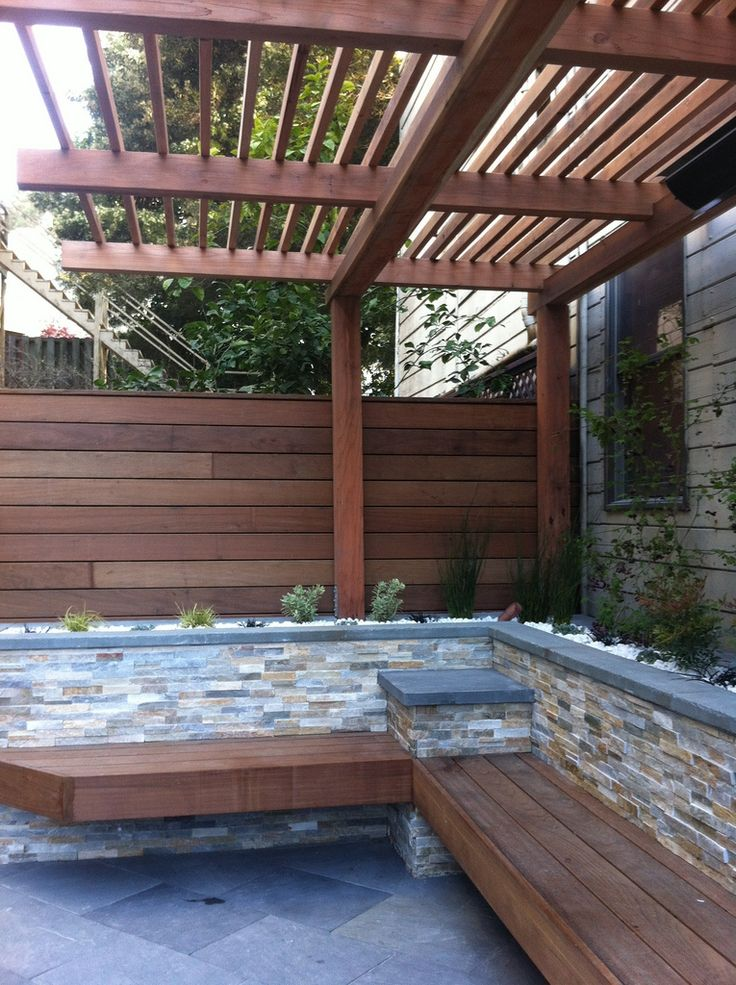 pergola lattice work pergola backyard patio designs on Brick Pergola Designs id=24662