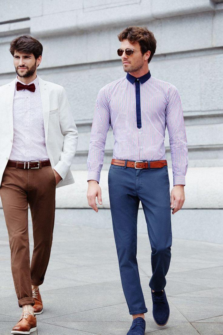 Printed & Striped Shirts I Mens Fashion I Street Style I Modern take on a classic style www,basicsman.com