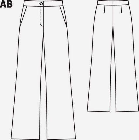 bir dik & bin bak: Kolay Pantolon Dikimi