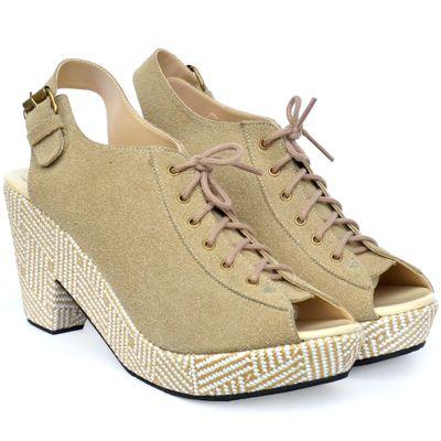 NICOLE sand - UP shoes