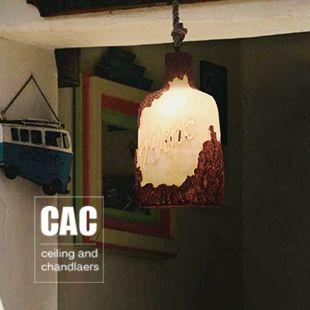 Деревенский бар смолаы кулон свет лампы