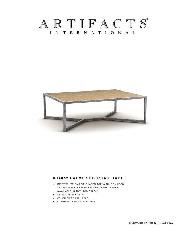 All Cocktail Tables