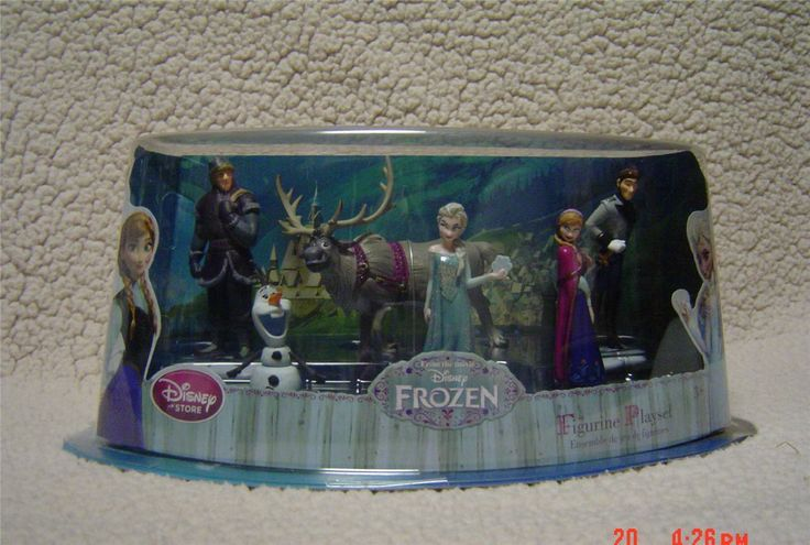 Disney Frozen Figure Play Set Cake Topper  Piece