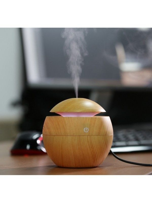 Wood Aroma Essential Oil Diffuser Ultrasonic Air Humidifier For Home and Office