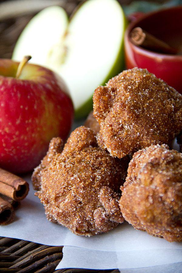 Old Mill Apple Cider Hushpuppies with Cinnamon-Sugar Recipe | The Cozy Apron