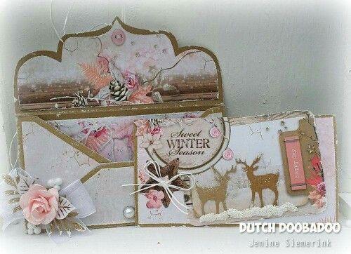 Dutch Doobadoo envelope art