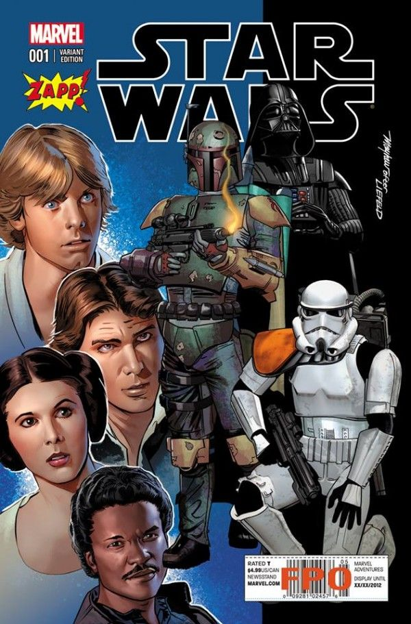 Marvel Star Wars #1 Cover Variant (after Liefeld)