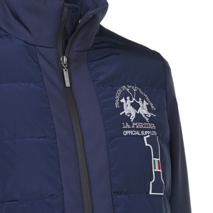 Softshell Jacket, blue - Maserati by La Martina - Collection