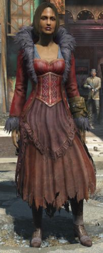 Fo4 Feathered-Dress
