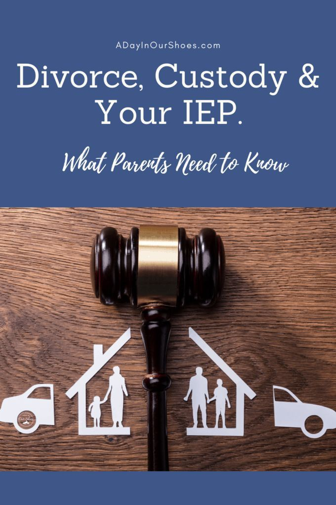 Divorce Custody And Your Iep What To Do When You And The Ex Don T Agree Iep Divorce Custody