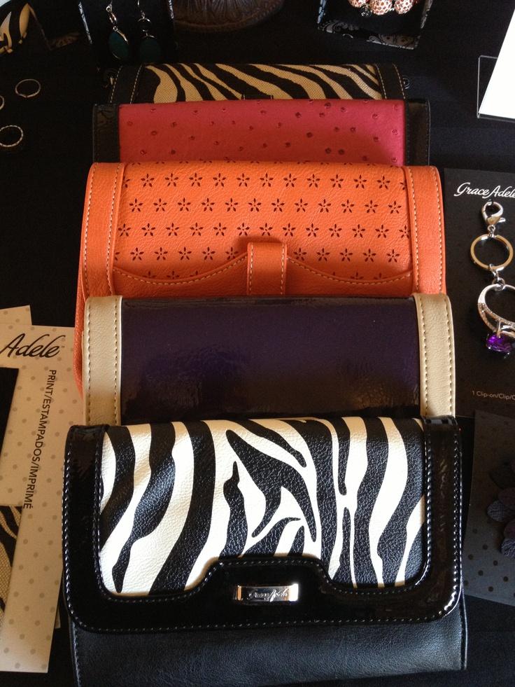 A selection of Grace Adele clutch purses! https://aleesullivan.graceadele.us