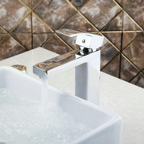 Elegant Bronze Chrome Bathroom Basin Single Handle Single Hole Deck Mounted 92342 Sink Grifos Vessel Vanity Tap Mixer Faucet #Affiliate