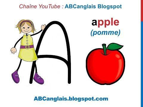 Relativ Les 25 meilleures idées de la catégorie Alphabet en anglais sur  YP04