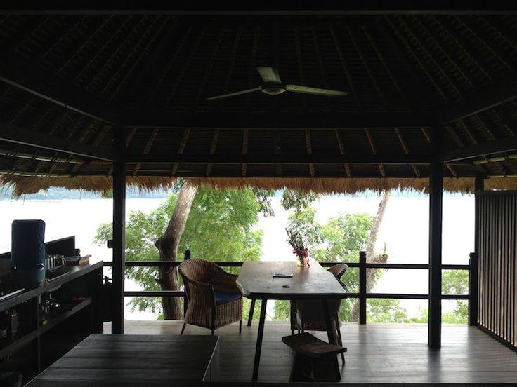 Сказочное Бали. Паданг Бей - вид из номера эко-отеля, в котором нет стен :)