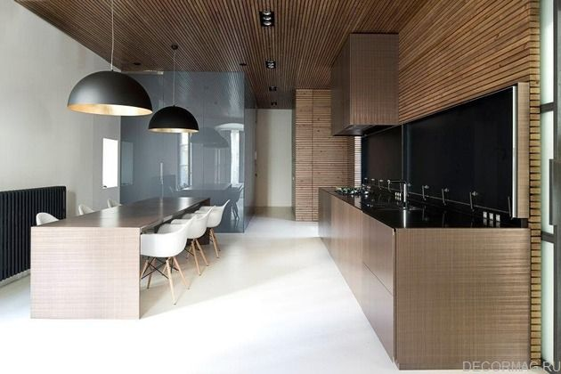 потолок из деревянных реек. потолок из деревянных реек