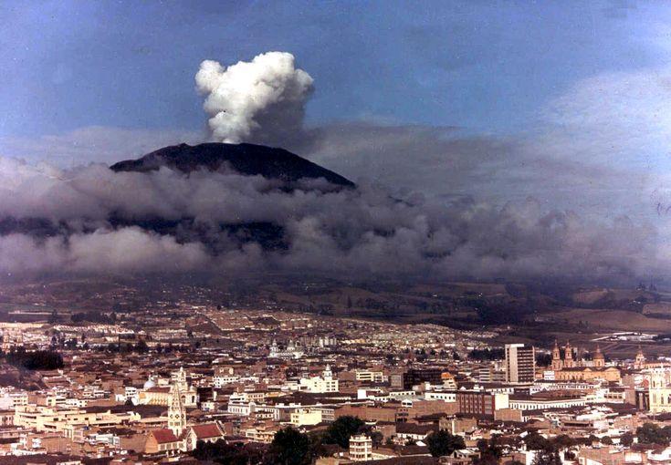 Colombia - Volcán Galeras Pasto, Nariño.