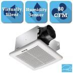 GreenBuilder G2 Series 80 CFM Ceiling Exhaust Bath Fan with Adjustable Humidity Sensor
