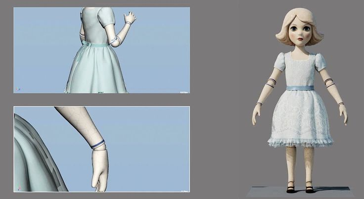 CG Making Of :: Oz The Great and Powerful - China Girl Shot Build: http://youtu.be/Qro4rldUK0M #makingof #vfx #imageworksvfx #breakdowns #disney