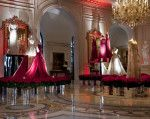 Elie Saab exhibition opens at the Four Seasons George V Hotel Paris