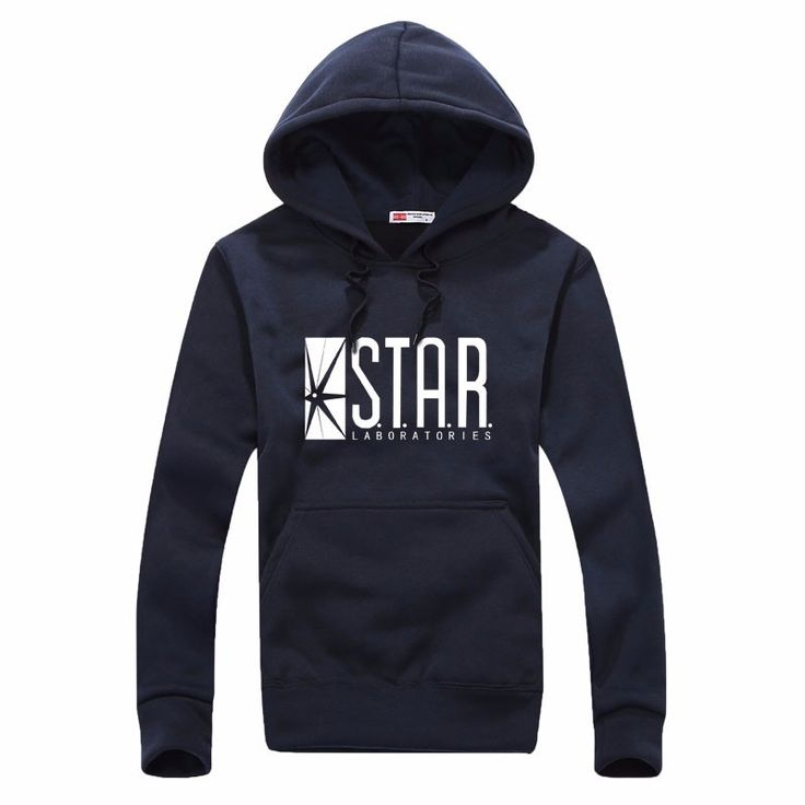 >> Click to Buy << autumn brand hoodies superman series men hoody STAR S.T.A.R.labs jumper the flash gotham city comic books black sweatshirt #Affiliate
