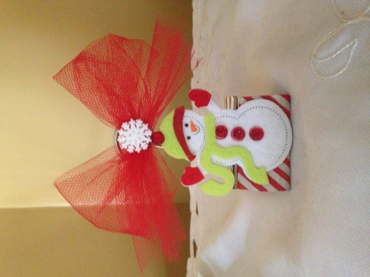 Christmas Binder Clip