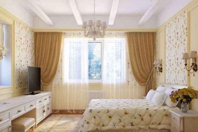 маленькие спальни дизайн интерьера фото 9 метров