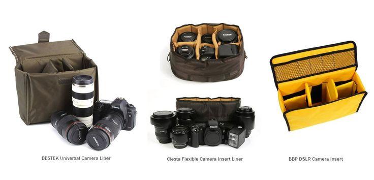 camera bag insert for backpack